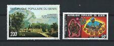 BÉNIN - 1977 YT 267 à 268 - POSTE AERIENNE - TIMBRES NEUFS* charnière