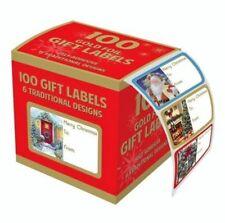 Adhesivo Lámina Colección Navidad 100 Navidad Etiquetas De Envoltura De Regalo etiquetas de nombres por Tallon