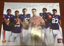 2016 Auburn Football Poster Gus MALZAHN , Carl Lawson , Adams