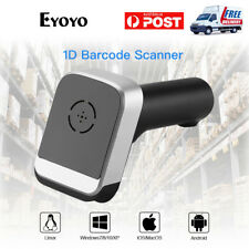 Handheld Bluetooth 2.4G Wireless Barcode Scanner for POS Smartphone IOS Win 7/8