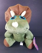 Sugar Loaf Plush Triceratops Stuffed Animal Toy 11""
