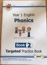 NEW - Year 1 English Phonics Book 2 - Targeted Practice Book