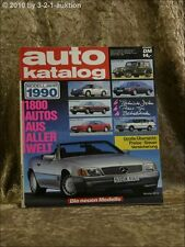 Auto Katalog Autokatalog AMS 1990 Nr. 33