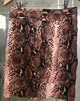 Witchery Animal Print Wrap Skirt Brand New Without tag Sz 8 Authentic
