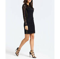 abito in pizzo guess donna W93K85R7EY0