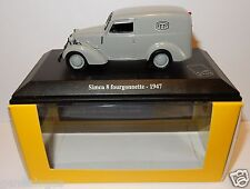NOREV SIMCA 8 FOURGONNETTE 1947 POSTES POSTE PTT 1/43 IN LUXE BOX
