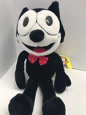 Vintage Felix the Cat Cartoon A&A Plush Stuffed Animal 16� Tall Deadstock 1996