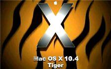 Apple macOS Tiger 10.4 Install DVD