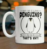 Penguins Can/'t Fly I Can/'t Fly Therefore I am a Penguin Coffee Mug 11 Oz