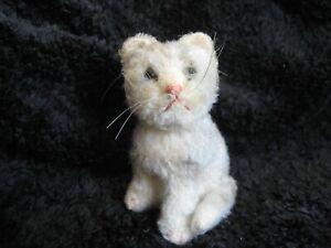 Rare 1950/75 German Steiff Cat ! Susi !