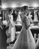 1956 Vintage Photo AUDREY HEPBURN & GRACE KELLY Backstage at 28th Academy Awards