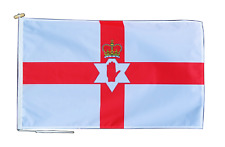 More details for northern ireland flag with rope and toggle - various sizes