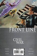 CIVIL WAR : FRONT LINE # 5<>MARVEL COMICS<>vf-