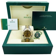 Brand New Rolex Daytona 116503 Steel Yellow Gold, Full Set untuched with Plastic
