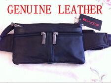 Brand New Fashion Genuine Leather Waist Bag Bum Bag Money Belt 7027