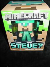 NEW MINECRAFT STEVE DIAMOND EDITION NEW IN BOX MOJANG JINX