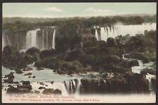 Argentina. El Salto del Iguazú, Misiones - Vintage Printed Postcard