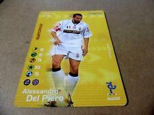 ALESSANDRO DEL PIERO FOOTBALL CHAMPIONS 2002 2003 045 / 107 NUOVO JUVENTUS 228 P