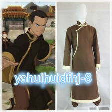 New! Avatar Sokka Sword Master Cosplay Costume Uniform Custom Made