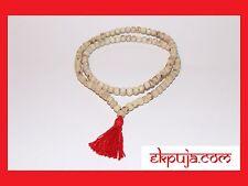 Natural Tulsi Seeds Mala Holy Basil Beads Mala 108+ 1 Krishna Meditation Yoga
