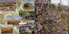Cyprus euroset 2014, UNC in mapje