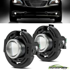 For 2011-2016 Chrysler 200 Projector Lens Bumper Fog Light Single one