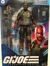 GI JOE Classified ROADBLOCK 6 Inch Figure USED OPENED