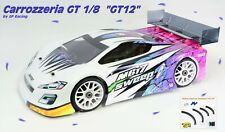 BODY by SP RACING GT12 for 1/8 GT for MGT7 RGT8 GTX8 COBRA from 1.5mm (no paint)