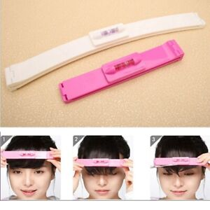 2pcs/set Fashion DIY Professional Bangs Hair Cutting Clip Comb Hairstyle Typing