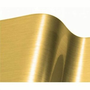 Brushed Gold Self Adhesive Vinyl Sticky Back Plastic Sign Making Cameo Cricut