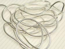 GRIFFIN, Bouillon Perlspiraldraht French Wire, versilbert, Ø 1 mm, 70 cm; FW-S