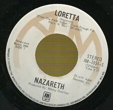 NAZARETH 45 TOURS CANADA LORETTA