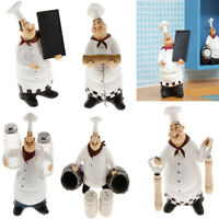 Home Decor Kitchen Bar Restaurant Ornament Figure Statue Chef Figurine