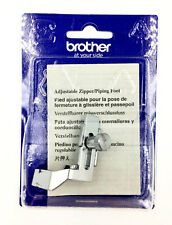 F036n Brother Adjustable ZIPPER Piping Foot Xc1970052
