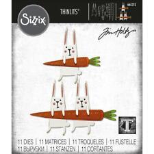 Sizzix Thinlits Die Set 665213 Carrot Bunny by Tim Holtz