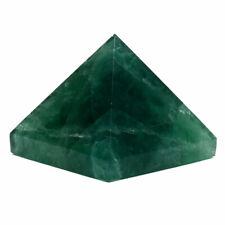 Naturale Fluorite Piramide Cristallo Di Quarzo Verde Minerale Rocca