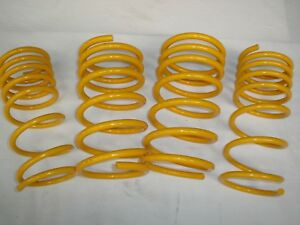 Lowered Front and Rear KING Springs suits 94-00 Holden Barina SB Models