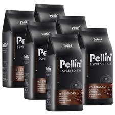 Pellini Espresso Bar n° 9 Cremoso, 1000g ganze Bohne 6er Pack