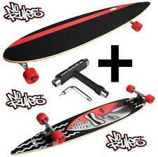 Norules longboard Guru pintail Cruiser 117cm + skate-Tool