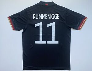 Karl-Heinz RUMMENIGGE #11 Germany Soccer Jersey Men Size L Large Free Shipping