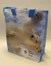 Polar Bear Cub WWF World Wildlife Fund Gift Bag Tote - NEW (1 BAG)