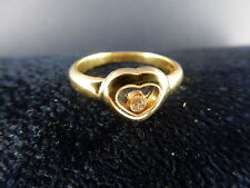 CHOPARD RING Herz Happy Diamonds 18 KARAT GOLD