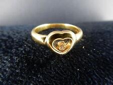 CHOPARD RING Herz Happy Diamonds 18 KARAT GOLD