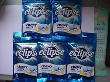 eclipse Powerful fresh breath Chewing Mints Peppermint flavour - 5 pcs