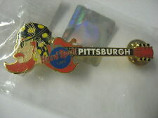 NEW Hard Rock Cafe Pin Pittsburgh Pirate Head Baseball Guitar 2002