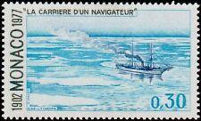 """MONACO N° 1105 """"ALBERT 1er NAVIGATEUR, LA BANQUISE, 30 C""""NEUF xxTTB"""
