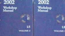 2002 FORD Lincoln LS Service Shop Repair Manual Set BRAND NEW W WIRING DIAGRAM