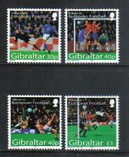 Gibraltar 2004 European Soccer--Attractive Sports Topical (971-74) MNH