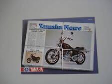 advertising Pubblicità 1981 MOTO YAMAHA XV 750 SPECIAL