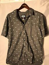 Batman Button Up Shirt XL
